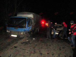 В Запорожской области легковушка влетела в грузовик: есть пострадавшие - ФОТО