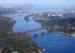 В Запорожье предлагают создать на воде символ города