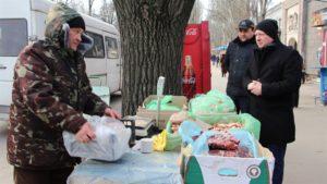 В Запорожье продолжается борьба со стихийной торговлей - ФОТО