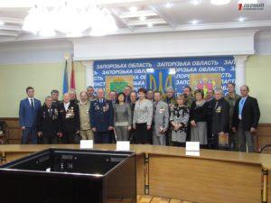 В Запорожье наградили общественных активистов и ветеранов Афганистана - ФОТО