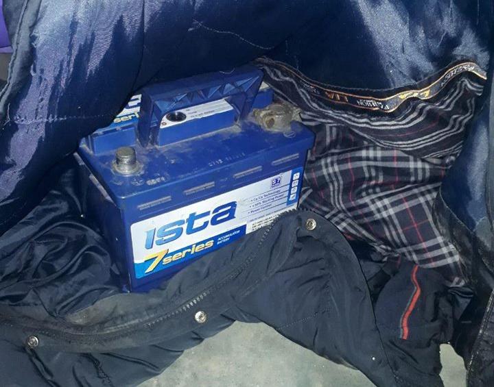 В Запорожье поймали «аккумуляторного» вора - ФОТО