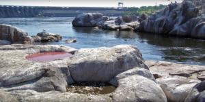 Запорожский дайвер исследовал под водой уникальное природное явление «казацкая миска» - ФОТО, ВИДЕО