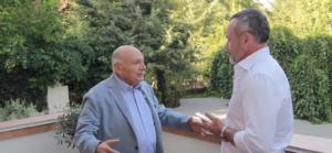Запорожский бизнесмен записал интервью с сатириком Жванецким - ВИДЕО