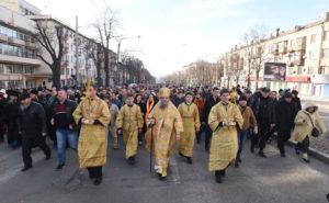 В Запорожье представители Московского патриархата снова пройдут Крестным ходом по центральному проспекту города