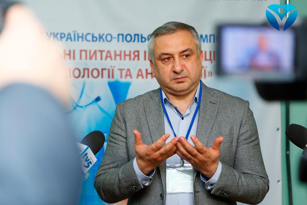 Главврач Запорожской облбольницы Игорь Шишка заявил иск против Госаудитслужбы Украины