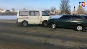 В Запорожской области лоб в лоб столкнулись два автомобиля - ФОТО, ВИДЕО