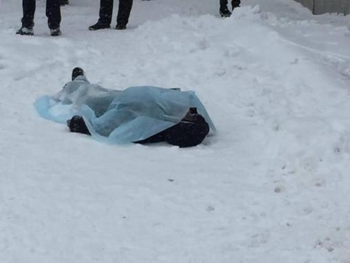 В Запорожской области на улице умер мужчина