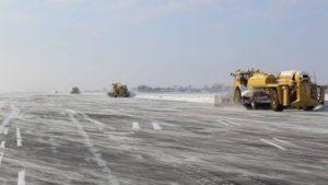 Из-за снегопада в запорожском аэропорту отменяют рейсы