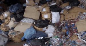В Запорожье на заброшенном складеобнаружили свалку с человеческимиостанками - ВИДЕО