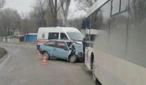 В полиции рассказали подробности ДТП с новым автобусом - ФОТО, ВИДЕО
