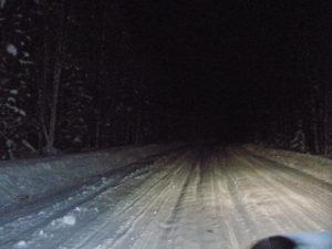 В Запорожской области маршрутка с пассажирами застряла в снегу - ВИДЕО