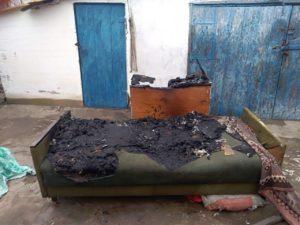 В Запорожской области пожар унес жизнь мужчины - ФОТО