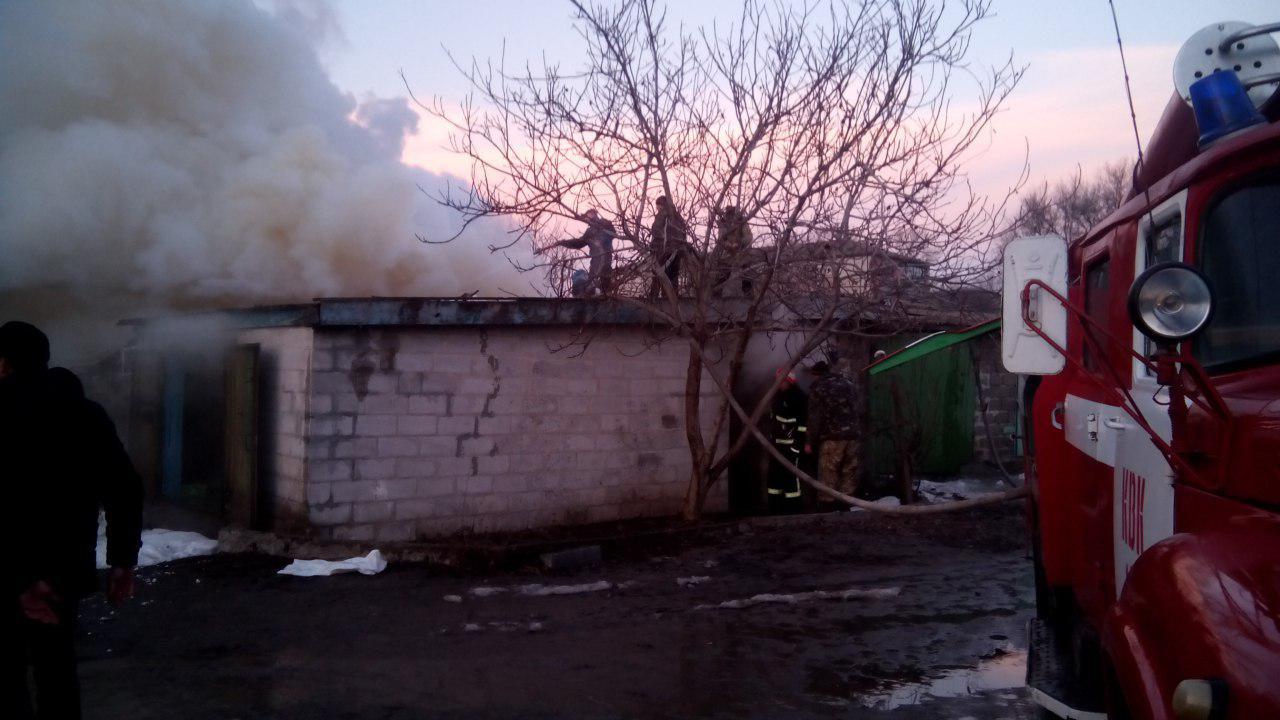 В Запорожской области произошел масштабный пожар - ФОТО