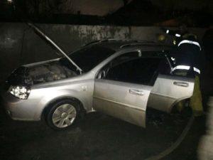 В Запорожской области в результате взрыва сгорели два авто - ФОТО