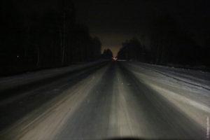 В Запорожской области микроавтобус с иностранцами застрял в сугробе - ФОТО