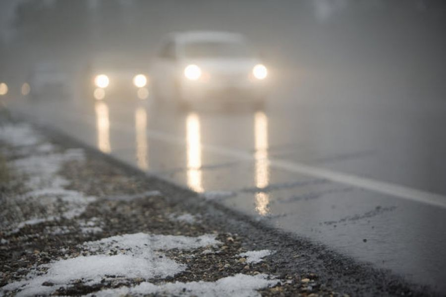 Попередження про мокрий сніг та ожеледицю на Херсонщині