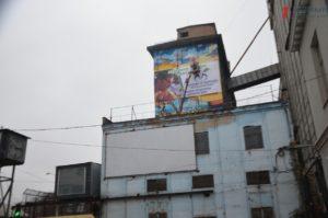 В Запорожье мурал с изображением Савченко потеснил