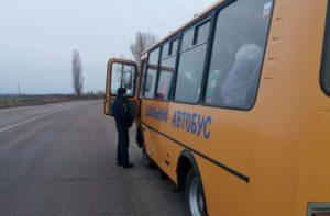 В Запорожской области водитель перевозил школьников на автобусе без техосмотра - ФОТО