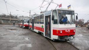 Стало известно, на какой маршрут в Запорожье пустили отремонтированные трамваи