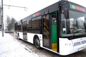 В Запорожье определились с перевозчиком, который будет обслуживать маршрут №72