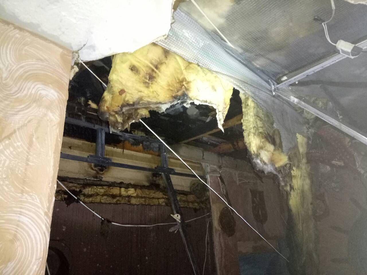 В центре Запорожья произошел пожар в кафе - ФОТО