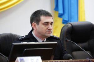 Начальник запорожской полиции Олег Золотоноша проживает в реабилитационном центре и берет у жены Toyota Camry