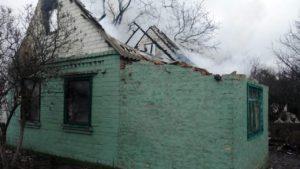 В Шевченковском районе Запорожья горел дачный дом - ФОТО