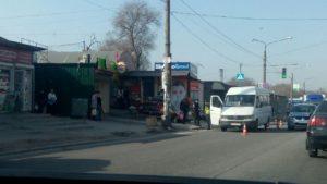 В Шевченковском районе маршрутка сбила семилетнего мальчика - ФОТО