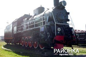 В Запорожской области отреставрировали раритетный паровоз-памятник - ФОТО