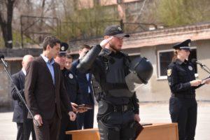 В Запорожье патрульные полицейские отметили вторую годовщину со дня создания – ФОТО