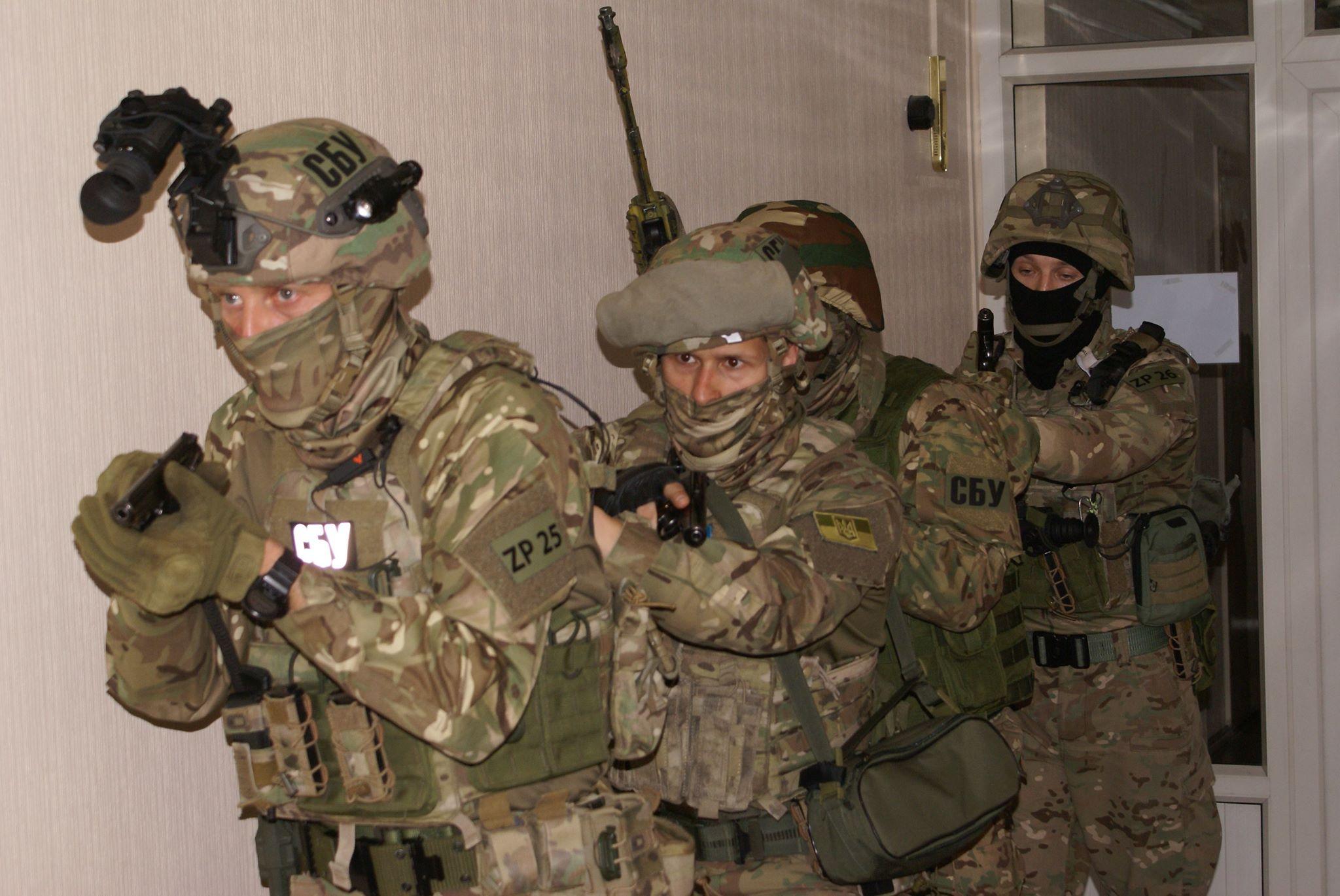В Запорожье сотрудники СБУ предотвратили «диверсию» в одной из воинских частей - ФОТО