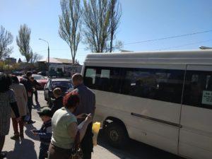 В Запорожье легковушка врезалась в маршрутку – ФОТО
