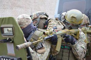В Запорожье три дня подряд спецназовцы и военные будут отрабатывать антитеррористические учения