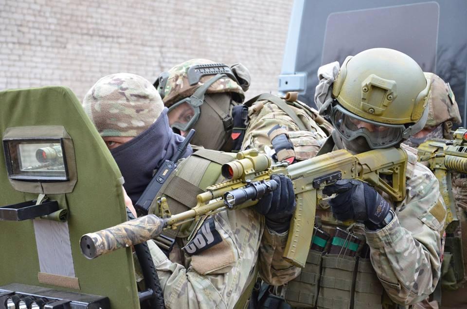 ВЗапорожье начались антитеррористические учения