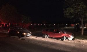 В Запорожской области столкнулись две легковушки: есть пострадавшая - ФОТО