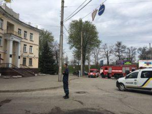В Запорожье «заминировали» хозяйственный суд - ФОТО