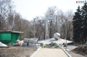 В Запорожье продолжается реконструкция памятника ликвидаторам Чернобыльской катастрофы - ФОТО