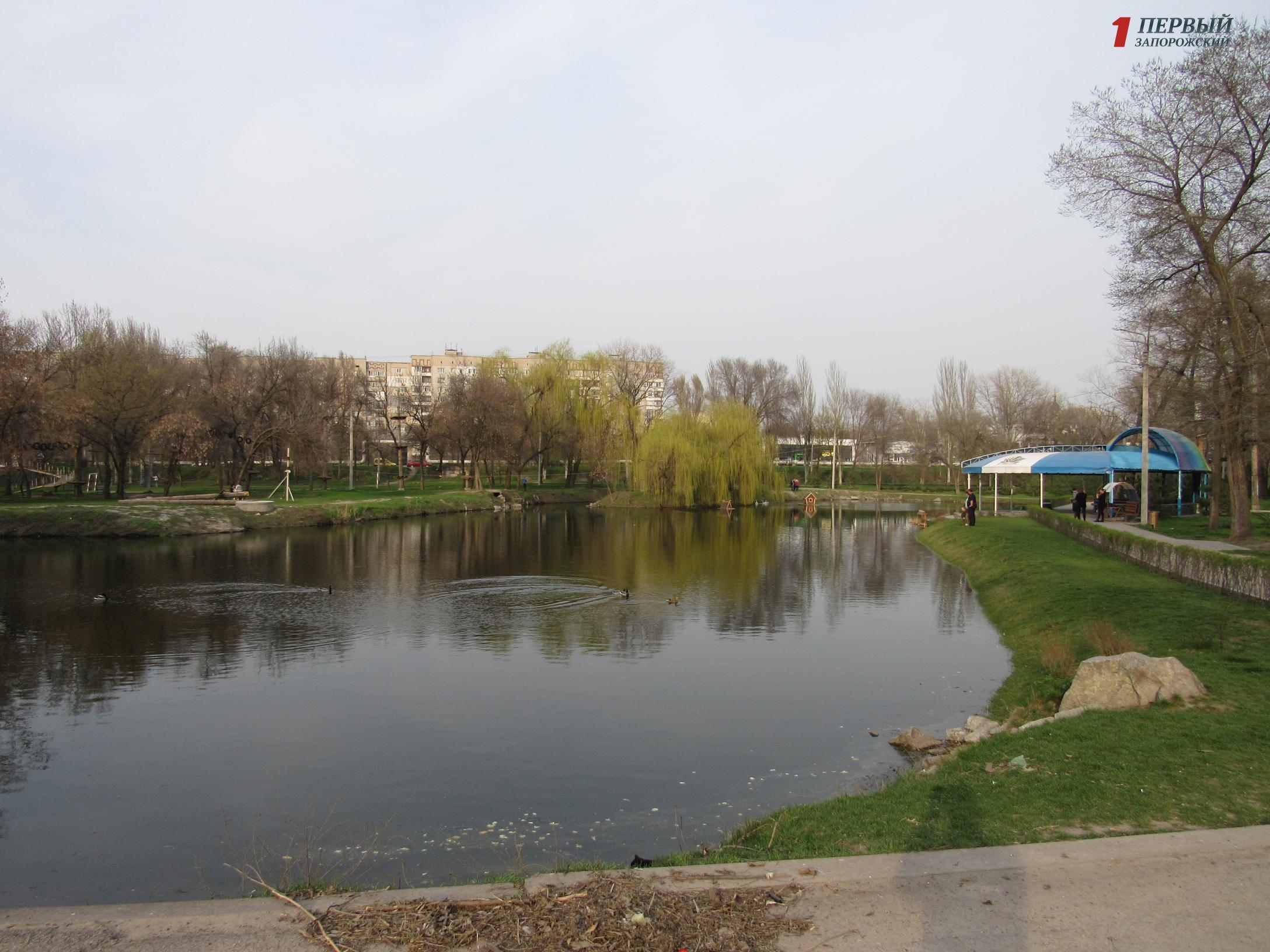 Очищенное озеро, бытовой мусор и старенькие аттракционы: как сегодня выглядит парк