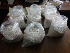 Иностранец пытался ввезти в Запорожье 45 кг серебряных гранул - ФОТО