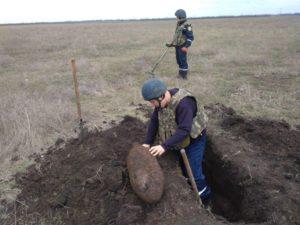 Авиабомба, граната и артиллерийские снаряды: запорожские спасатели обнаружили боеприпасы времен ВОВ