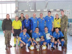 Запорожцы одержали победу на чемпионате по мини-футболу среди военнослужащих - ФОТО