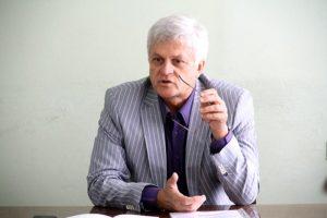 Депутат областного совета и шеф-редактор запорожской газеты выступил на форуме, организованном российской ассоциацией - ФОТО