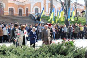 В Запорожье почтили память узников нацистских концлагерей - ФОТО