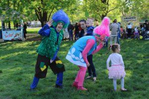 В центральном парке «Дубовая роща» открыли весенний фестиваль «Spring fest 2018» - ФОТО