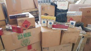 В Запорожье изъяли крупную партию контрабандных сигарет - ФОТО