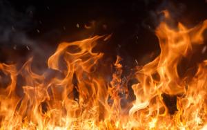 В Запорожье ночью 29 спасателей тушили масштабный пожар