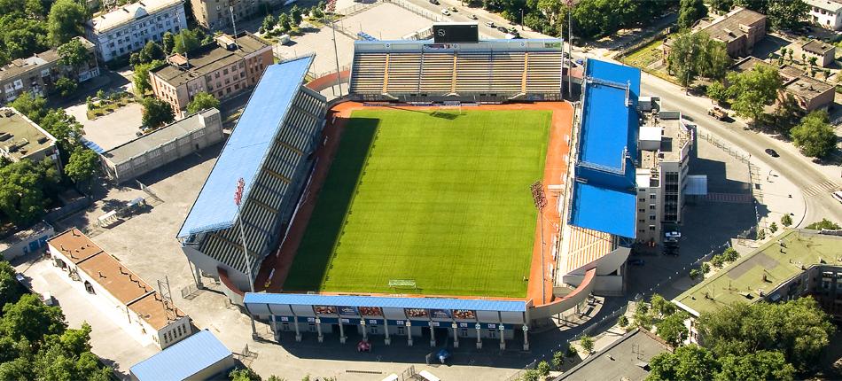 В Запорожье будут проводить еврокубковые матчи