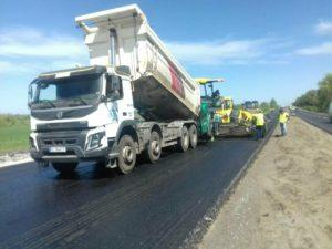 Турецкие подрядчики завершают свою часть ремонта трассы Запорожье-Днепр и передали эстафетную палочку одесситам