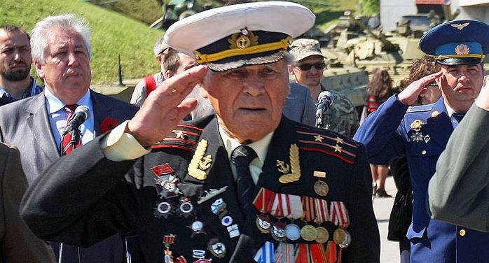 Запорожском ветерану Ивану Залужному исполнилось 100 лет