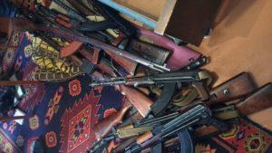 В Запорожье ликвидировали опасную банду, занимавшуюся трафиком огнестрельного оружия и боеприпасов - ФОТО, ВИДЕО